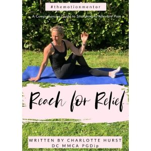 Reach for Relief book written by Charlotte Hurst Chiropractor