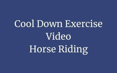 Horse Riders' Cool Down