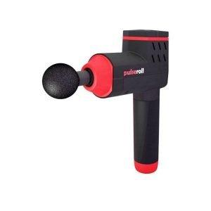 Pulseroll percussion massage gun is available through Charlotte Hurst