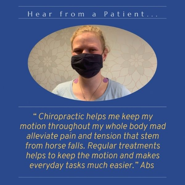 Chiropractic Testimonial from Abs