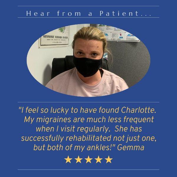 Testimonial from Gemma for Charlotte Hurst