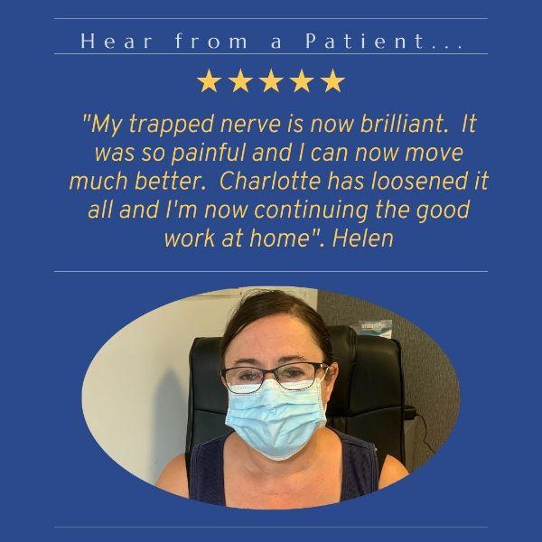 Testimonial from Helen for Charlotte Hurst