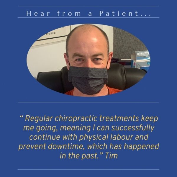 Chiropractic Testimonial from Tim