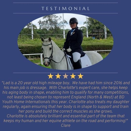 Testimonial from Clare