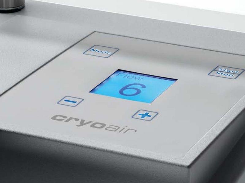 Cryoair maching display